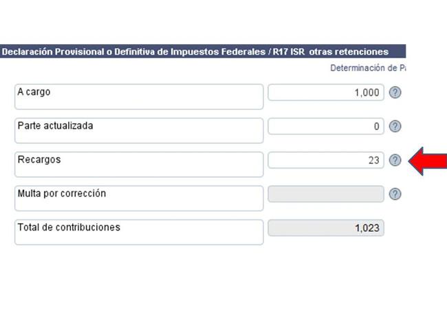 Plataforma Recargos