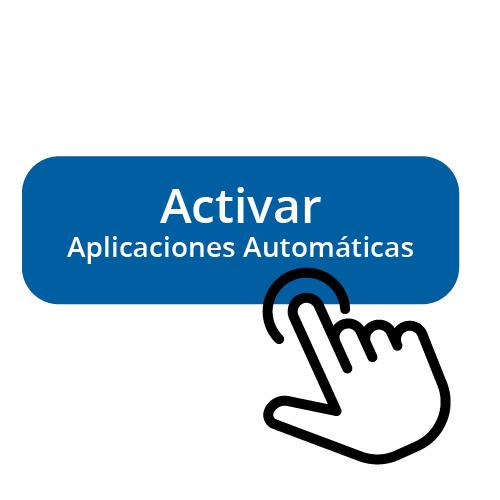 Activa las Aplicaciones Automáticas